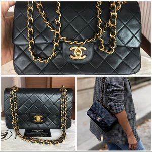 CHANEL Bags - ❌SOLD❌CHANEL Vintage Classic Double Flap Lambskin